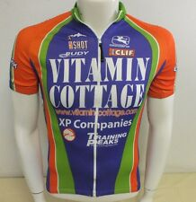 Giordana Fit For Fashion Vitamin Cottage Full Zip Cyling Bike Jersey Men's Small