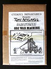 OOP Citadel / Warhammer Chaos Arcane Monstrosities TA4 Orc War Machine BNIB