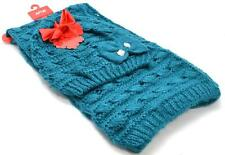 Winter Apt.9 Women Beautiful 2 piece Blue Open Knit Combo Scarf Cap New Lot 1282