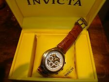 Mens Invicta Watch Mechanical 20 Jewels Water Resistant