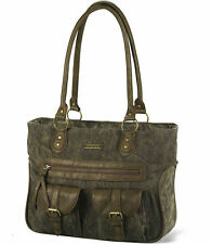 Womens Dakine Ella Handbag/Purse/Laptop Bag 16L - Olivette - FREE SHIP