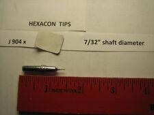 """Hexacon J 904x, soldering tip, 7/32"""" diameter"""