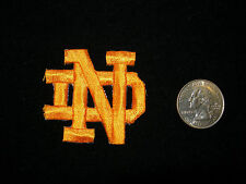 "Notre Dame ""FIGHTING IRISH ND LOGO"" Iron On Patch - NCAA (Fast Free Shipping)"