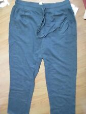 SILVER WEAR LADIES STRETCH KNIT PANTS SIZE 2x dark GRAY NWT