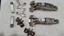 BLUM Zero Protrusion Inserta Hinge Kit, Euro and Face Frame Plates, Blumotion