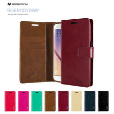 Samsung S5 S6 Edge Mercury Goospery PU Leather Wallet CARD Flip Stand Case Cover