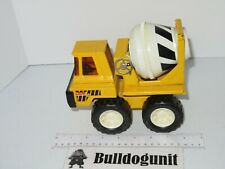 Vintage Buddy L Cement Mixer Truck Pressed Steel Construction Toy Yellow