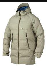 Men's OAKLEY ZIG ZAG Snowboard/Ski Jacket Pale Green, Medium.