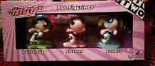 Powerpuff Girls PVC Figurine Cartoon Network WARNER BROTHERS STORE EXCLUSIVE SET