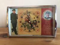 VINTAGE CHINESE ALARM CLOCK COMMUNIST PROPAGANDA CHAIRMAN MAO RETRO KITSCH