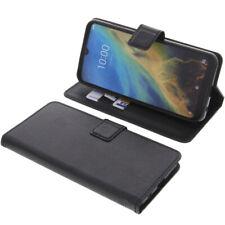 Funda Para ZTE Blade A5 2020 Book Style Protección Teléfono Móvil Libro Negro