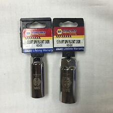 "NAPA 2 PC Spark Plug Socket Set 13/16"" + 5/8"" 3/8 dr."