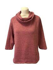 Ladies TIGI Size 18/ 20 Pink Short Sleeve Jumper