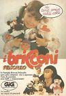 X0494 I Bricconi pelocaldo - Gig - Pubblicità 1980 - Vintage advertising