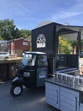 More details for piaggio ape coffee/food van