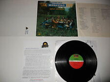 Manassas Down the Road Stephen Stills 1973 1st Press A+ SOUND! Ultrasonic CLEAN