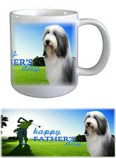 Bearded Collie Dog Beardie Fathers Day Ceramic Mug -1 by paws2print