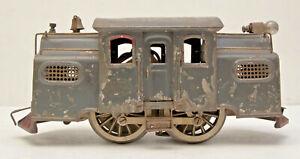 Vtg Lionel Prewar NY Central No 38 Locomotive Passenger Observation Stock Car