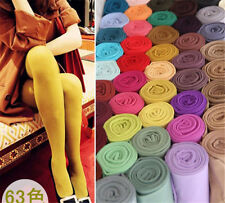 Women 120D Soft Velvet Thick Opaque Pantyhose Tights Black Stockings Elastic Hot