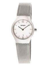 New AMPM Women's PD135-L170 Steel Case steel Bracelet Quartz Watch