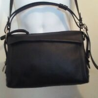 Marc by Marc Jacobs Black Leather Crossbody Shoulder Bag Prism 34 Purse