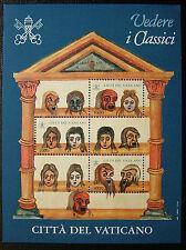 1997  Vaticano Foglietto  Vedere  i  Classici  MNH**