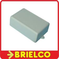 CAJA DE PLASTICO GRIS PARA MONTAJES ELECTRONICOS 70X109X40MM TAPA PILAS BD6889