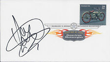 Dougie LAMPKIN Signed Autograph FDC First Day Cover COA AFTAL Trials Rider