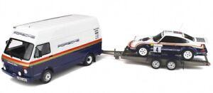 OT331 - Camion PORSCHE avec plateau et Porsche 911 SC RS -  -