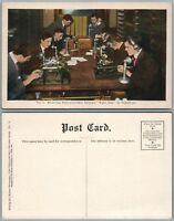 MAKING NEWSPAPER RECEIVING PHILADELPHIA RECORD WANT ADS ANTIQUE POSTCARD