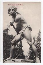 CHILE El Cacique Caupolican UNUSED postcard Ed. Hume & ca