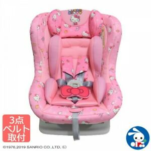 Sanrio Hello Kitty Pink Car Safety Seat Kid Infant for Age 0-4 Weight 2.5-18kg