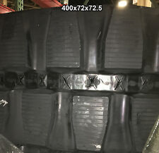 (2-Tracks) Komatsu Rubber Track Pc 40R-(Sn<24522) Pc-40R-8 400x72x72.5 40072725