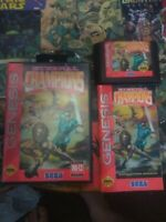 Eternal Champions (Sega Genesis, 1993) CIB, Authentic, Tested complete rare