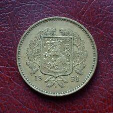 Finland 1931 aluminium-bronze 10 markkaa