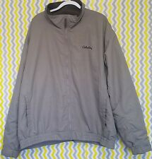 Cabelas XXXL 3XL Beige Full Zip Jacket