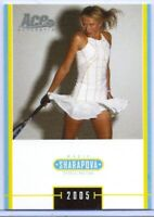 "MARIA SHARAPOVA 2005 ACE TENNIS ""SPECIAL EDITION"" ROOKIE CARD #MS-6! RUSSIA!"