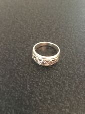 Ladies Sterling Silver Ring Silver 925