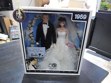 NEW Wedding Day Barbie & Ken Giftset 1959 My Favorite Couple Repro 6750 RARE