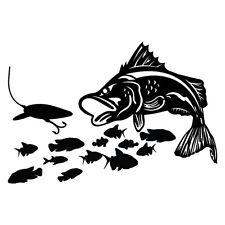 Fishing Barramundi Lure Windshield Sticker Decal Vinyl Windscreen #AWTOP020LS