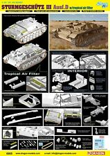 1/35 Dragon StuG.III Ausf.D w/Tropical Air Filter North Africa1942 #6905