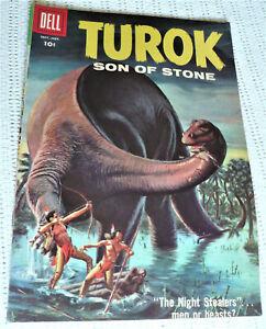 TUROK SON OF STONE #13 - DELL 1958