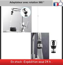 adaptateur économiseur d'eau rotation 360 ° robinet mitigeur