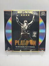 New listing Platoon LaserDisc Ld Tom Berenger, William Dafoe & Charlie Sheen