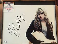 "ORIANTHI PANAGARIS SIGNED 11X14 PHOTO GAI GA COA ""ALICE COOPER'"