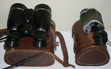 Vintage Reconnoitre 8 x 25 Prism Monocular / German Unbranded Binocular Lot RARE