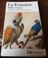 LA FONTAINE // FABLES CHOISIES.Préface de JP Chauveau ..