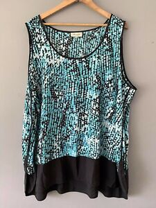 AUTOGRAPH Long Tunic Top NWOT Size 26 Business Workwear Casual