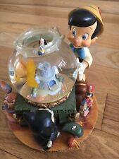 "Rare Disney Pinocchio Musical Snow Globe ""Toyland"" by Victor Herbert Oop Vintage"