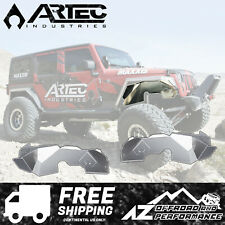 ARTEC Solid Front Aluminum Inner Fender Kit 2018+ Jeep Wrangler JL - Bare JL5107